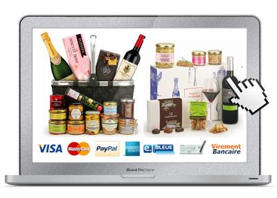 Cadeaux d 39 entreprise gourmands coffrets et paniers garnis - Commander a manger payer en ligne ...