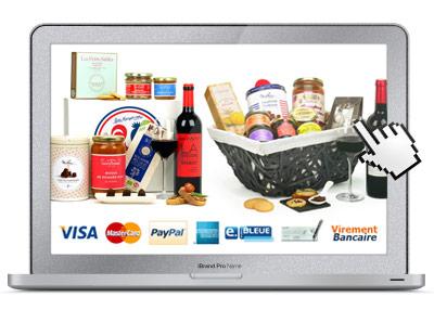 Ven en ligne coffrets gourmands pour les entreprises